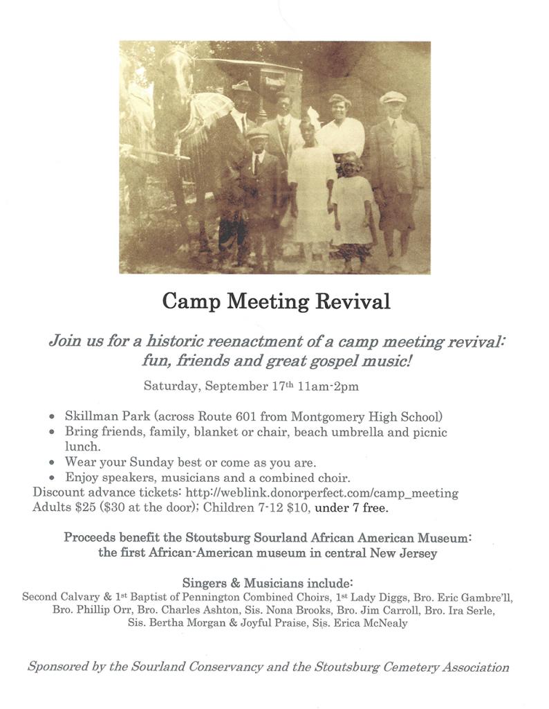 Camp Meeting Revival Sept 17, 2016